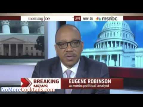 "Eugene Robinson: Ferguson decision means whites can shoot blacks & ""worry about consequences later"""