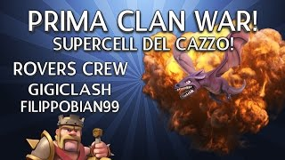 Rovers Crew: Prima clan war    SUPERCELL DEL CAZZO!