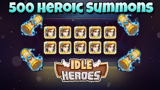 Idle Heroes - 500 Heroic Summons - Valentino Event