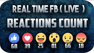 How To Get Live Facebook Reactions Count and Display Live Poll / Live Vote Real Time( Step By Step )