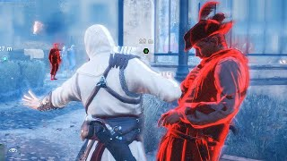 Assassin's Creed Unity Paris Missions & Altair s Outfit Free Roam & Rampage with Master Arno