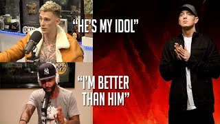Celebrities Talk About Eminem (MGK, Joe Budden, Snoop Dogg, Logic & more!)