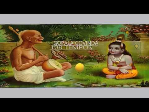 Mantra |  Gopala Govinda | 108 Tempos |