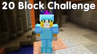 Minecraft PS4 - 20 Block Challenge - A Big Cave! (9)