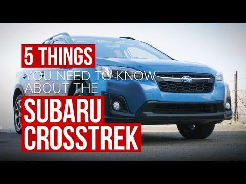 2018 Subaru Crosstrek: Five things to know - Dauer: 106 Sekunden