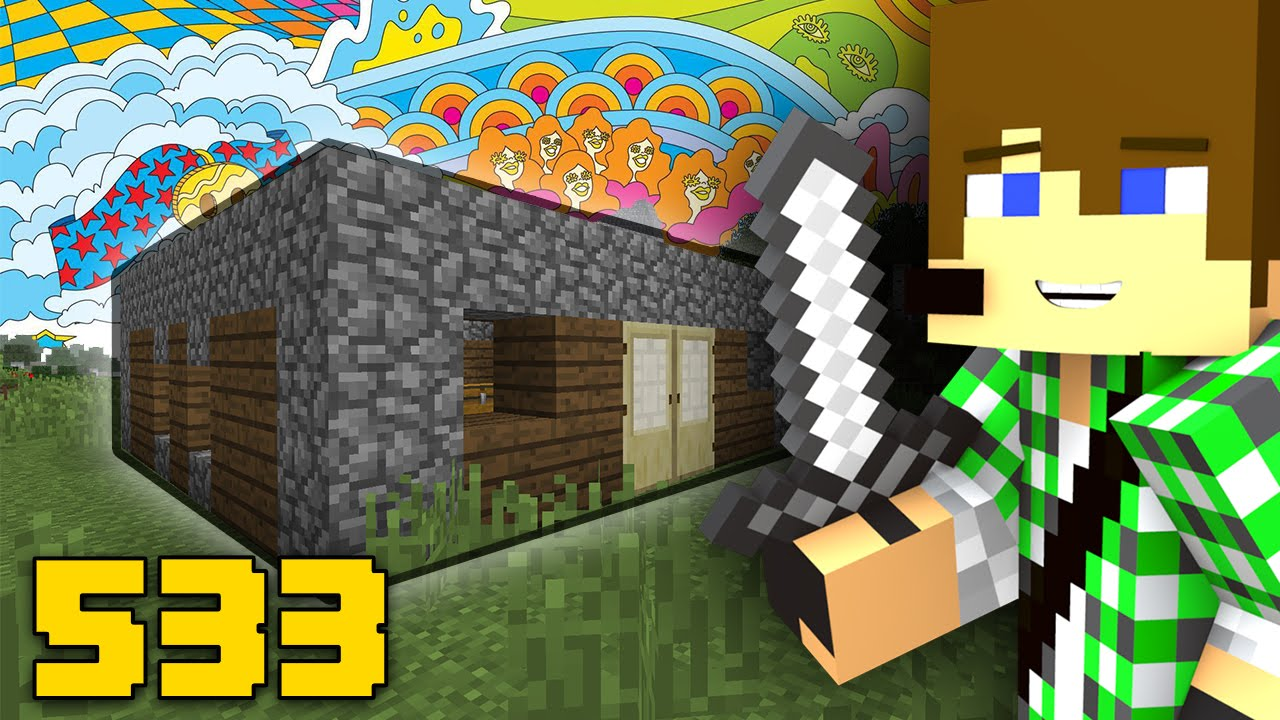 Minecraft ita 533 la mia non casa youtube for Piccoli progetti di casa di minecraft