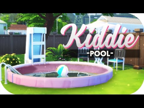 The Sims 4 Diy Kiddie Pools And Oval Gardens 🌴 Youtube