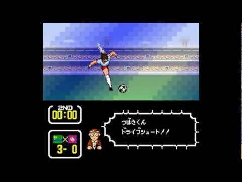 Captain Tsubasa 3 (Super Famicom) - Match 1: São Paulo FC vs. Corinthians