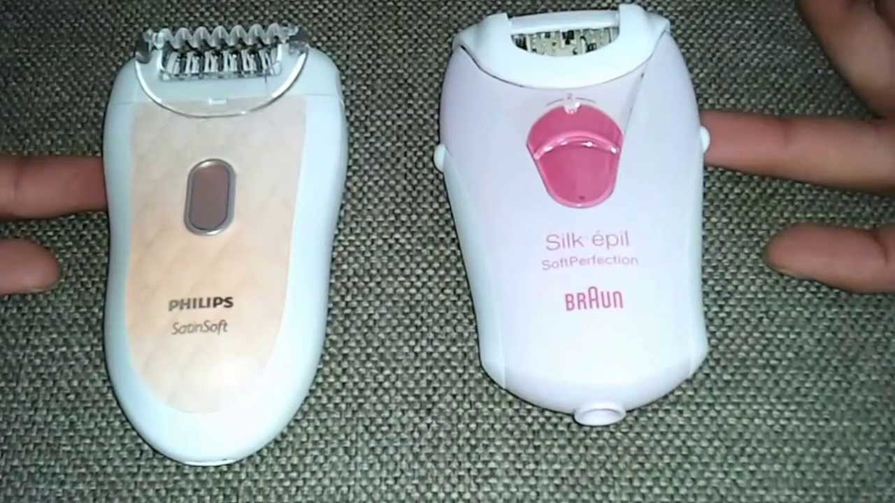 philips satinelle o braun silk epil
