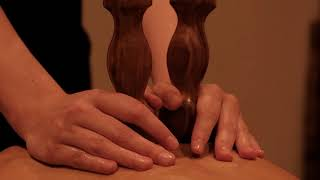 Theranaka African Wood Massage at our Lurra Spa