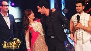 Beintehaa Aliya & Zain's ROMANCE on Jhalak Dikhhla Jaa 7 28th June 2014 FULL EPISODE 7 | DANCING Act