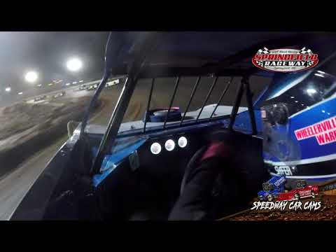 #7w Cole Wells - Late Model - 11-24-19 Springfield Raceway- In Car Camera