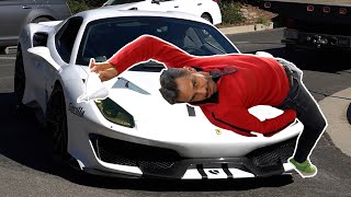 Recojo a Derbez en el Ferrari de Salomundo