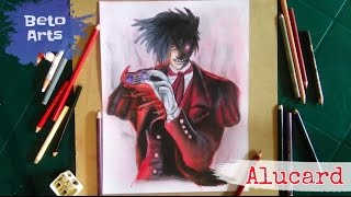 Speed Drawing - Alucard (hellsing)