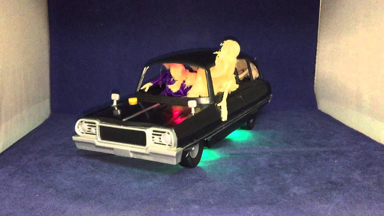 rare gemmy halloween hearse - Www Gemmy Com Halloween