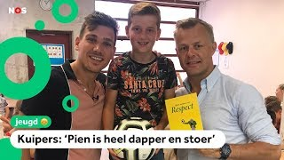 Brief van Pien (10) ontroert top-scheids Björn Kuipers