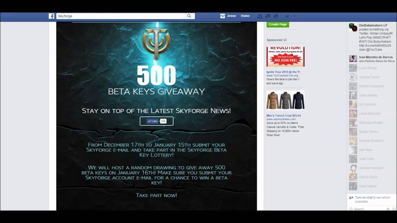 Closers Beta Key Giveaway Facebook