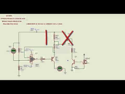 Convertidor de 4-5V a 4-20mA