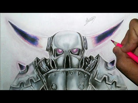 Drawing Pekka Clash Desenhando Pekka Clash Royale