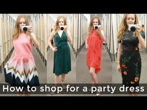 Party dress for women over 40 - how to shop for women over 40