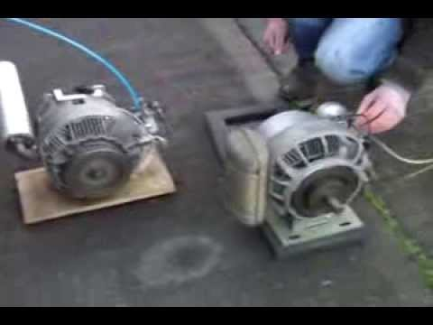 Sachs KM48 Wankel engines (two Sachs Wankel engines running)