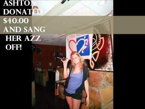 Karaoke + Harp N' Fiddle v. Hunger April 25 - 26, 2012