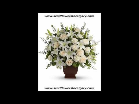 Send flowers from Norway to Calgary Alberta Canada