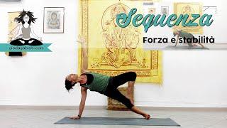 Vinyasa Yoga - Sequenza - FORZA e STABILITÀ BRACCIA