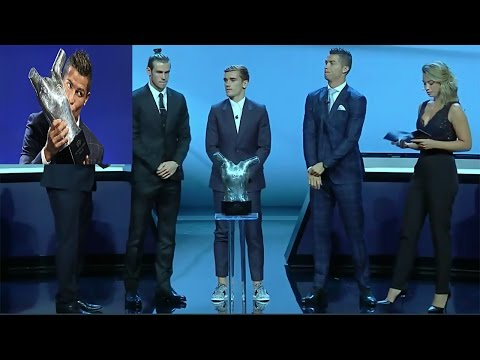Cristiano Ronaldo wins UEFA's Best Player in Europe award  2016