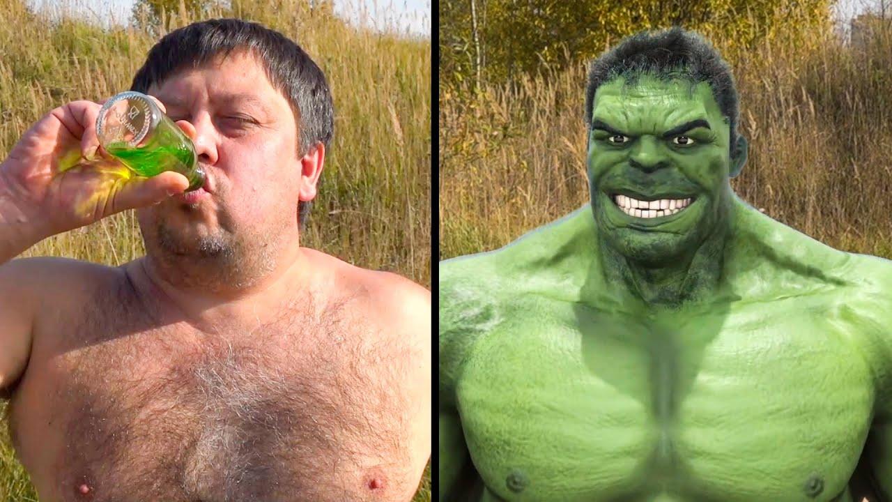 Download Bollywood Hulk VS real life Hulk transformation fan made