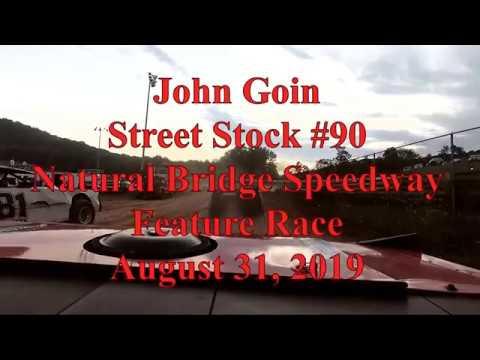 John Goin In-Car Feature Race at Natural Bridge Speedway - 8/31/19
