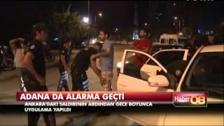 Adana da alarma geçti