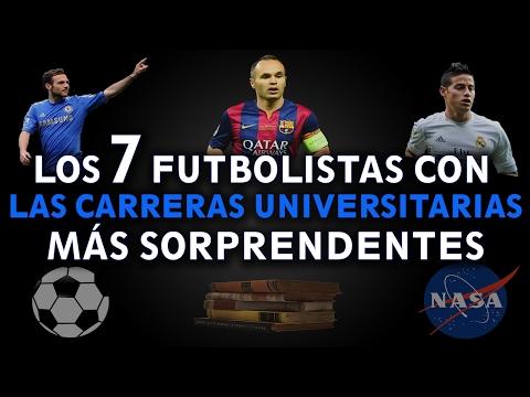 TOP: 7 FUTBOLISTAS CON LAS CARRERAS UNIVERSITARIAS MÁS SORPRENDENTES   Renacimiento 21
