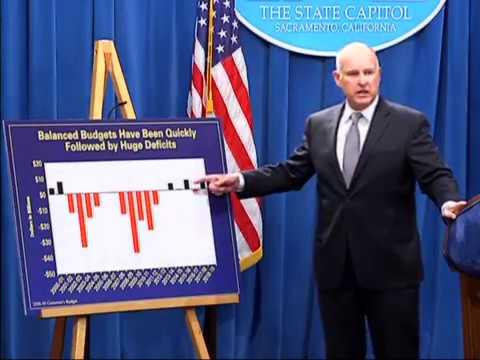 California Governor Jerry Brown - 2018/19 Budget