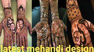 Latest mehandi design for you//latest Arabic mehandi design//latest bridal mehandi design