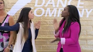 Dance Moms - Kira and Camille argue (S07E06)
