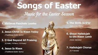 Songs Of Easter, Music For The Resurrection | 8 Easter Hymns | Choir W/Lyrics | Sunday 7pm Choir