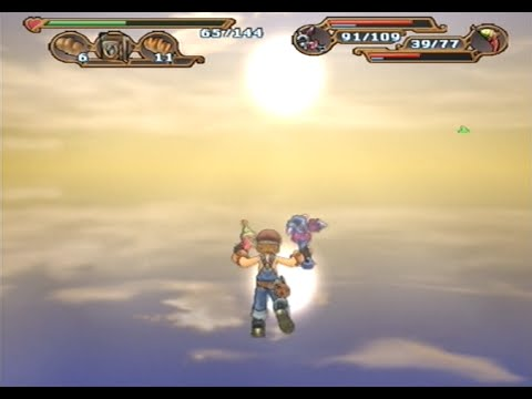 Glitch Adventures: Dark Chronicle / Dark Cloud 2 Falling Through the Floor  and the Twin Suns!