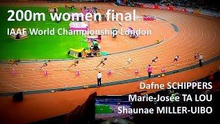 200m women's final - London 2017