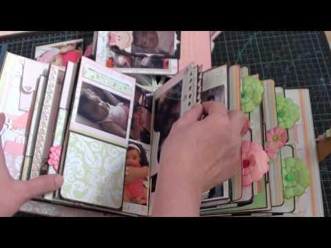 baby mini album with pictures