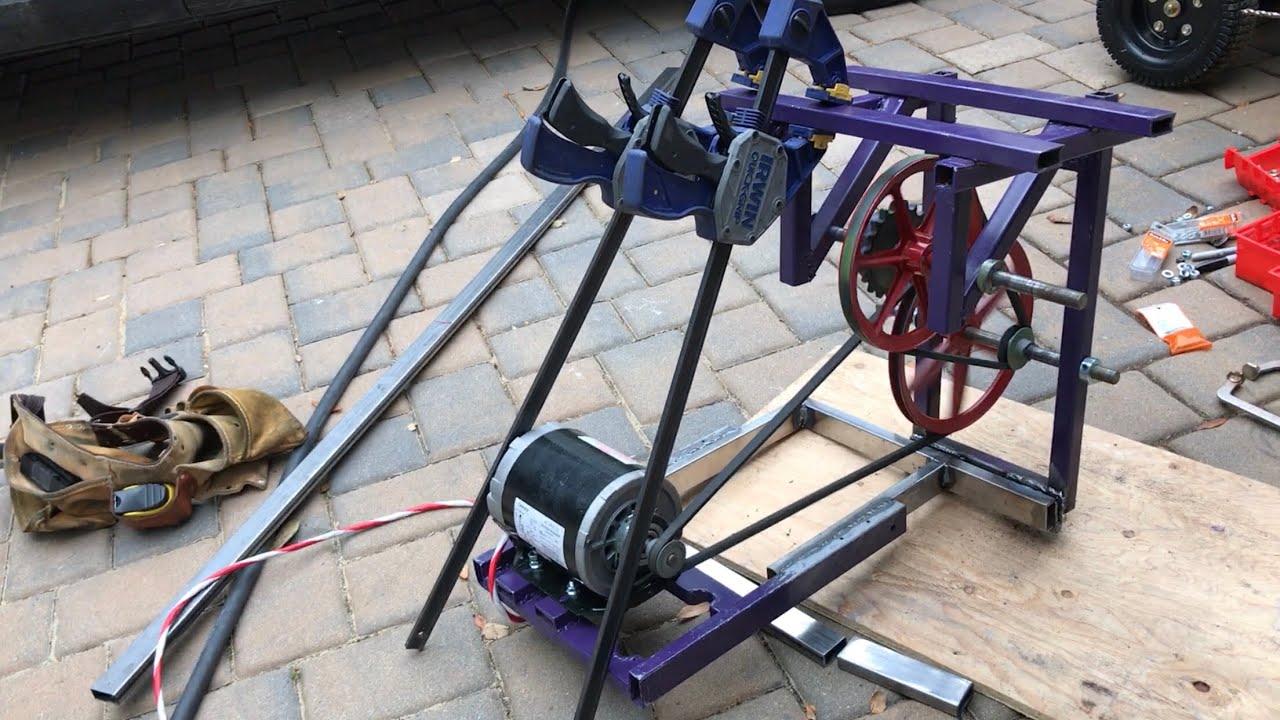 Backyard Roller Coaster - Chain Lift Motor Update - YouTube