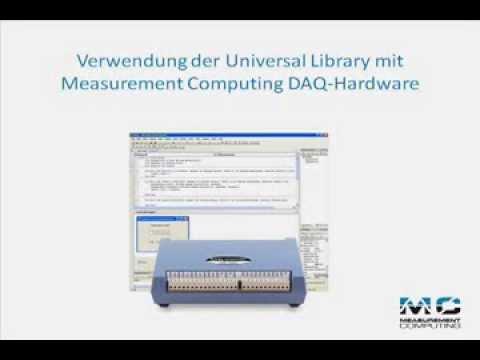 Verwendung der Universal Library mit Measurement Computing DAQ-Hardware
