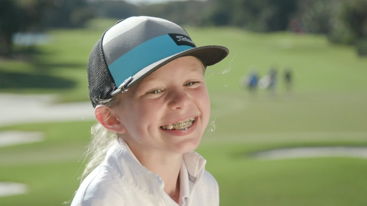 Girls Golf Member Reese McMillan - Drive, Chip and Putt