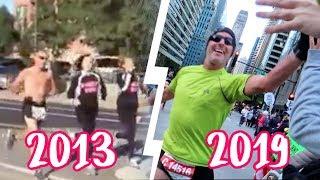 9 YEARS OF RUNNING THE CHICAGO MARATHON