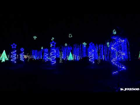 Christmas Light Show 2013 - Winter Wonderland (Nashville, TN)