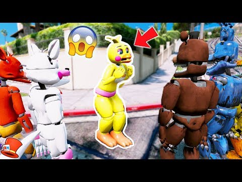 BE MAD AT TOY CHICA AFTER YOU SEE THIS! (GTA 5 Mods For Kids FNAF RedHatter)