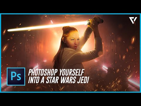 How To Photoshop Yourself Into A Star Wars Jedi