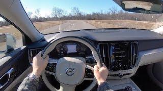 2019 Volvo V60 T6 AWD Momentum - POV Test Drive (Binaural Audio)
