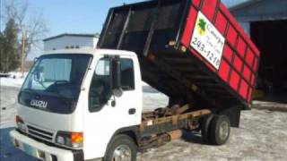 1999 Isuzu GMC NPR Chevy 350 Gas 55k! Auto 12ft Dump Truck