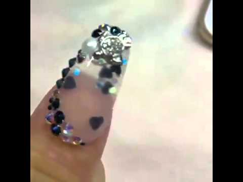 water cool nails art